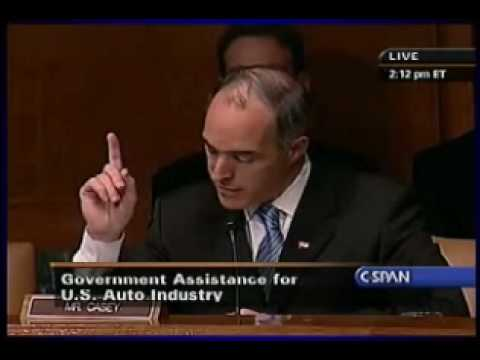 "Sen. Bob Casey: Autoworkers and unions ""scapegoated"""