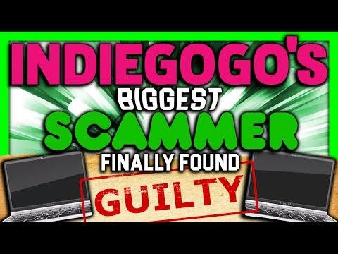 Indiegogo's BIGGEST Scammer Finally Found GUILTY - SGR