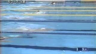 世界水泳(2001)200m平泳ぎ 北島康介 エド・モーゼス ブレンダン・ハンセン