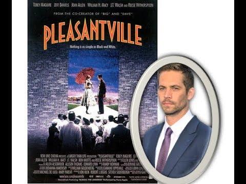 PAUL WALKER (pleasantville) 1998
