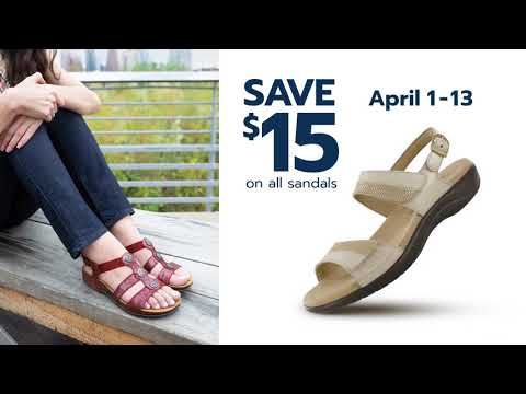 SAS Shoes Spring Sandal Sale