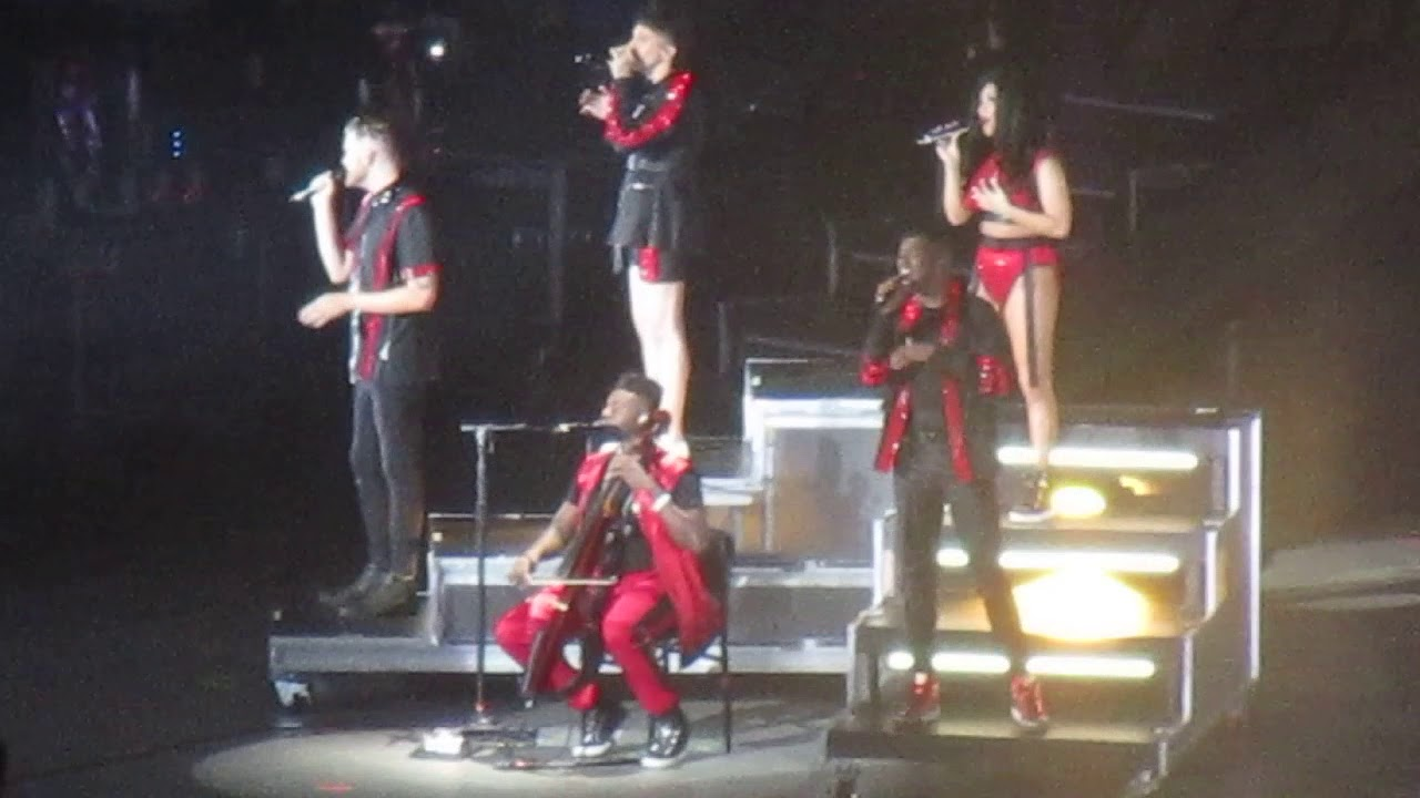 Pentatonix performing 'Perfect' at PNC Bank Arts Center in New Jersey  8/20/18