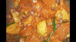 Chicken & Potato Curry Recipe Bangladeshi Cooking   Chicken   Potato   chicken & potato recipe  