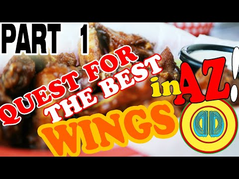 Best WINGS in AZ, We Review our Favorite Place for BUFFALO WINGS, The Vine Tavern and Eatery