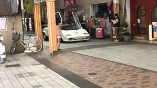 津山中央商店街.