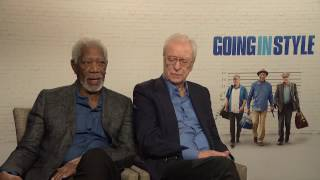 Going in Style—Morgan Freeman and Michael Caine Interview