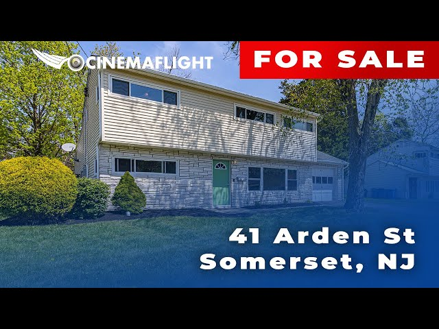 Cinemaflight Property Tours   41 Arden St, Somerset, NJ