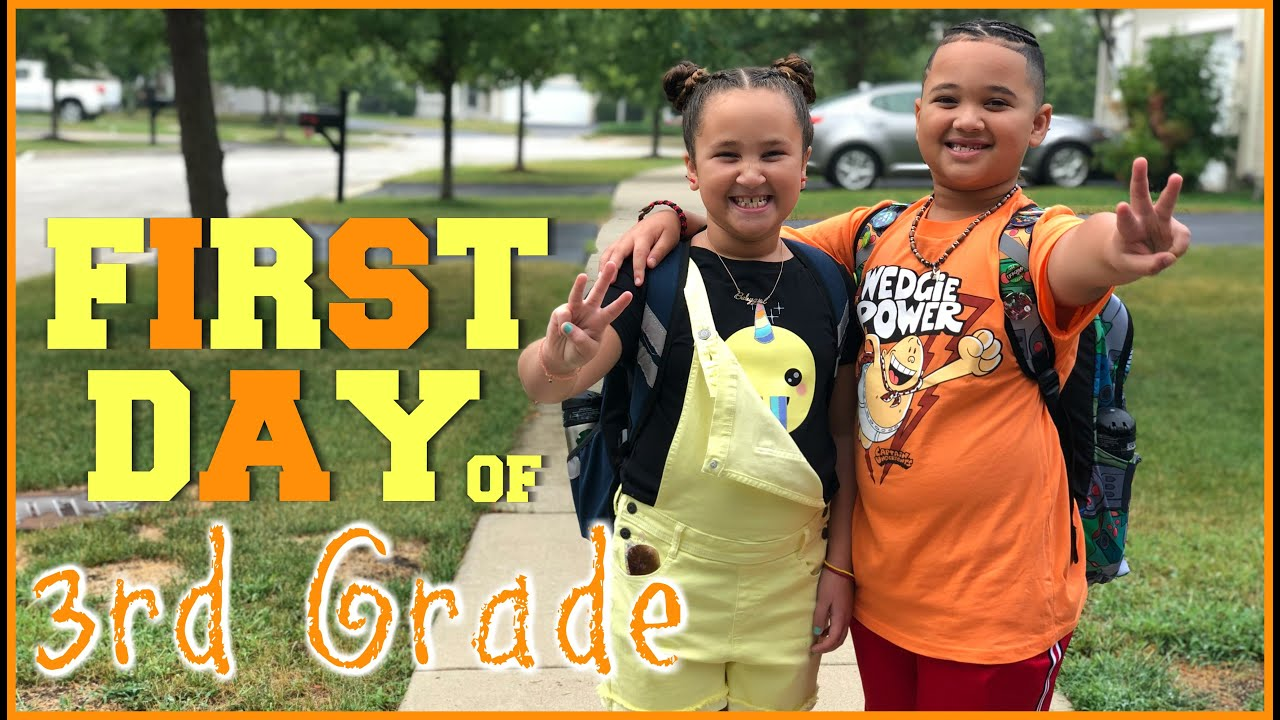 Our First Day of 3rd Grade! 😛  |Lala & Dayday|