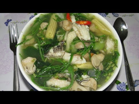 Khmer Traditional Soup Recipe!!  Asian Cooking Style At Home By Kimyee Ros Cooking