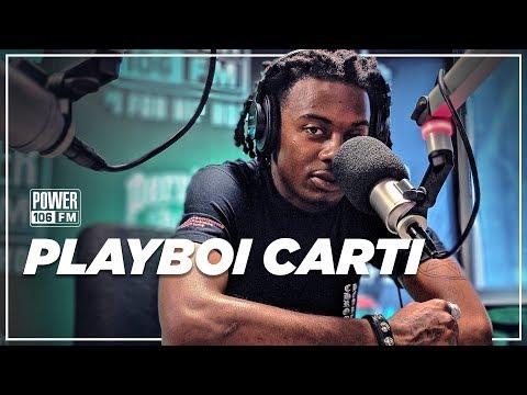 Playboi Carti talks Unreleased Frank Ocean Collabs, 'Die Lit' + Clubbing with his Pops