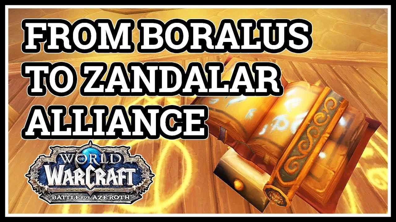 wow magier portal boralus