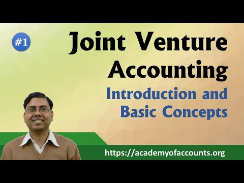 Joint Venture Accounting (Part-1)  ~  Introduction [For B.Com/M.Com/CA/CS/CMA]