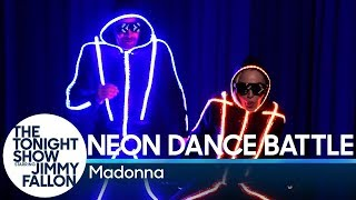 Neon Dance Battle with Madonna