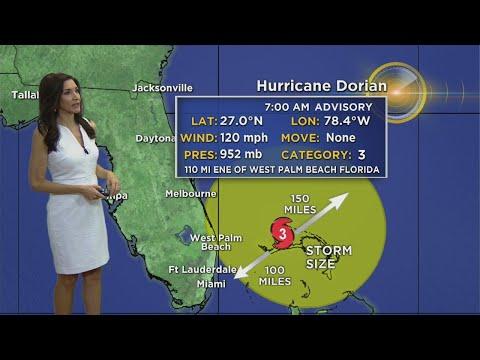 Hurricane Dorian 7AM