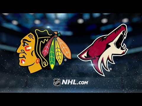 Chicago Blackhawks Vs. Arizona Coyotes | NHL Game Recap | October 21, 2017 | HD