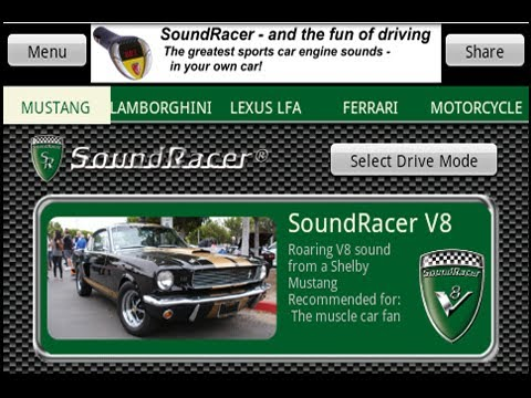 SoundRacer FREE Car Sounds – Apps bei Google Play