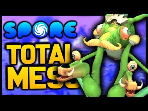 This is Spore and evolution is a total mess thumbnail