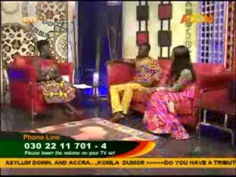 FASHION IN GHANA AFISEM ON ADOM TV WITH NKOSUOHENE & THERESA ONNEN
