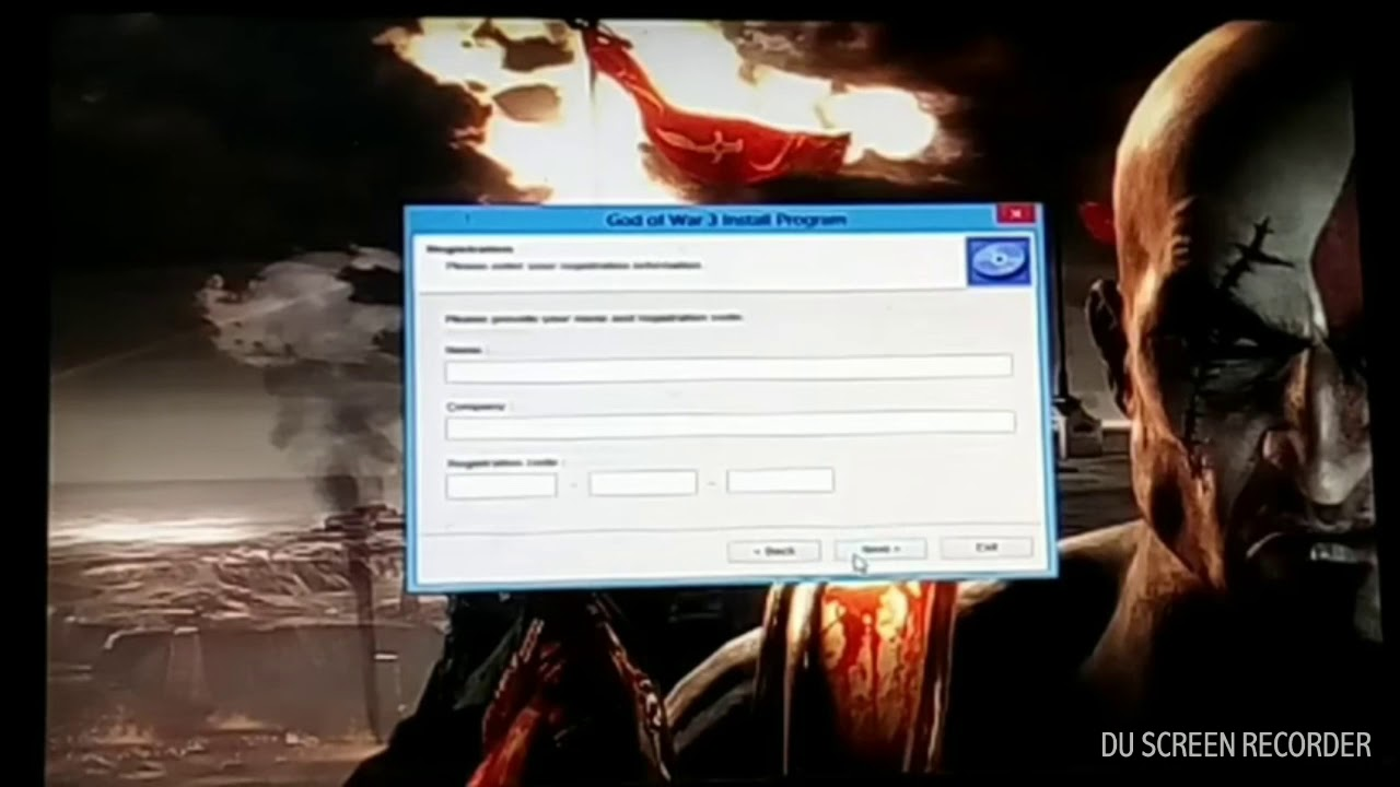 Real god of war 3 registration code by ayanmliza - YouTube