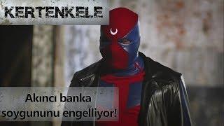 Akıncı banka soygununu engelliyor! - Kertenkele