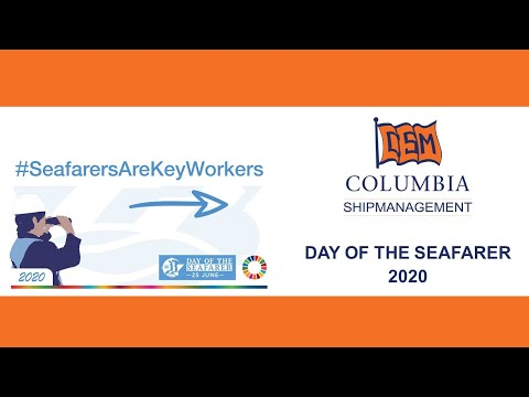 Day of the Seafarer 2020 - Thank you from Columbia Shipmanagement