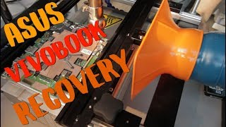 Data recovery on ASUS VivoBook E403 laptop | eMMC chip-off