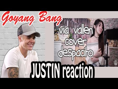 Via Vallen - Despacito Dangdut Koplo Cover Version REACTION JUSTIN