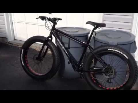My New Gravity Fat Bike Youtube
