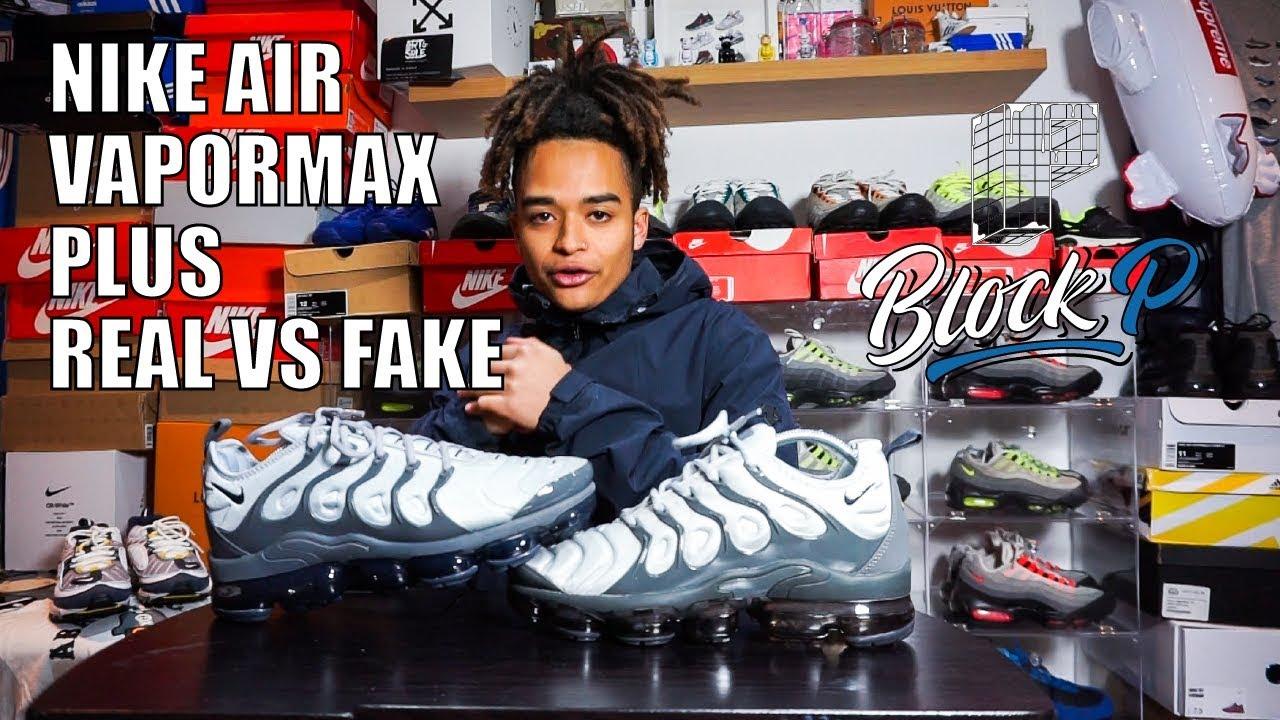 Nike Air Vapormax Plus Real Vs Fake