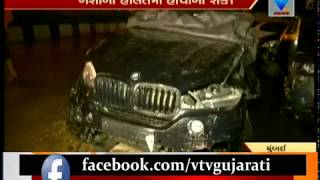 Balika Vadhu fame Siddharth Shukla Crashes BMW Into 3 Cars, Mumbai Road Divider | Vtv News
