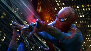 Spider-Man Crane Swinging Scene  - The Amazing Spider-Man (2012) Movie CLIP HD