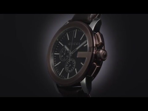 a69a2c01105 Gucci Chrono Wathes - YouTube