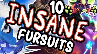 10 INSANE fursuits - How do these exist?! [Bottle Ep54]