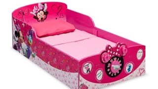 Review: Delta Children Interactive Wood Toddler Bed, Disney Minnie Mouse