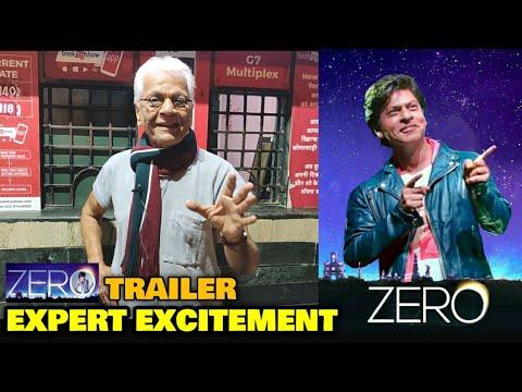 ZERO Trailer | Lalu Makhija EXPERT EXCITEMENT | Shahrukh Khan | Releasing on SRK's Birthday
