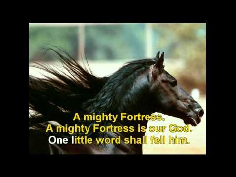 GOSPEL HYMNAL - A MIGHTY FORTRESS IS OUR GOD G.avi