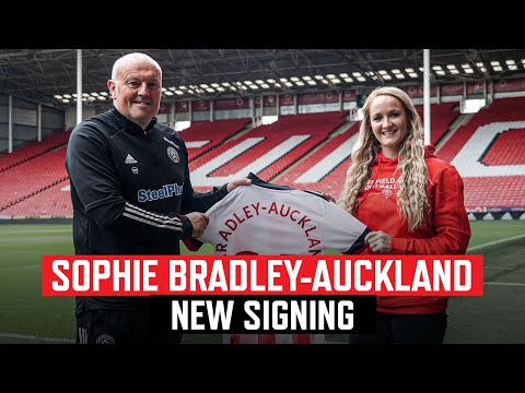 Sophie Bradley-Auckland   New Signing from Liverpool   First Interview on becoming a Blade