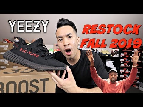 "RESTOCKING FALL 2019 !!! YEEZY 350 V2 ""BRED""