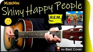 Shiny Happy People - R.E.M. - Guitar Lesson : https://youtu.be/a3Th...