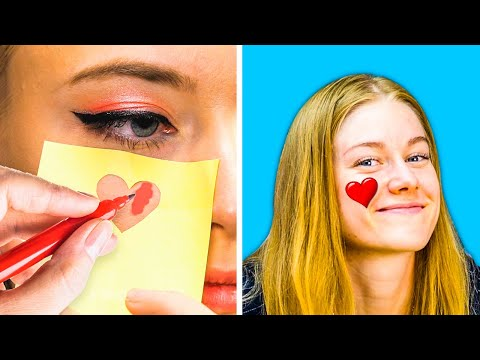33 PARTY MAKEUP HACKS || Beauty Tricks by 5-Minute DECOR thumbnail