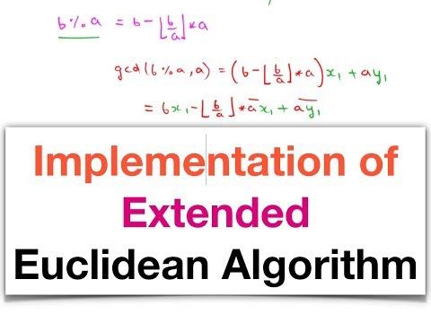 Bezout + erweiterter euklidischer Algorithmus from YouTube · Duration:  7 minutes 1 seconds