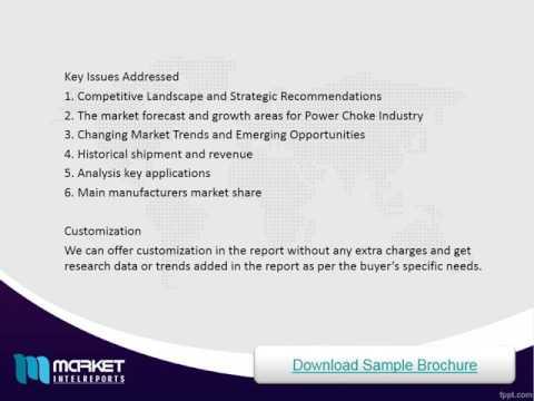 Global Power Choke Industry Analysis