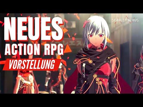 NEUES ACTION RPG SCARLET NEXUS / Scarlet Nexus Review / Scarlet Nexus Deutsch German