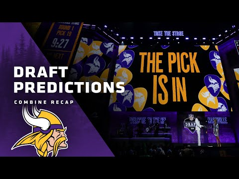 Possibilities For The Minnesota Vikings' First Round NFL Draft Pick And Free Agency