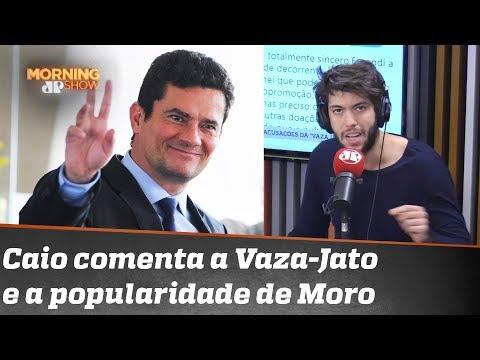 """Coppolla e a Vaza-Jato: """"Moro é um trunfo moral deste governo"""""""