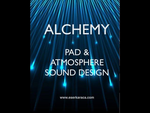 Alchemy - Ses Tasarımı 1. Bölüm