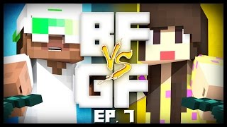 minecraft bf vs gf s4 ep 7 creeper blew up everything