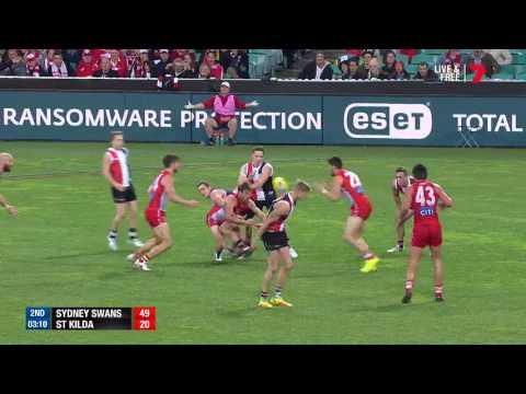 Round 18 AFL - Sydney Swans v St Kilda Highlights