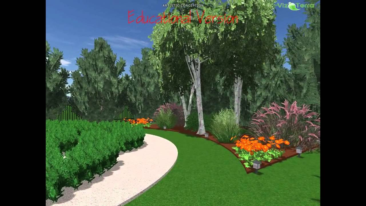 Adam 39 s 1 2 acre english garden with orachard design youtube for Garden design ideas half acre