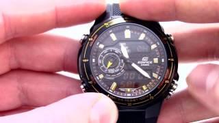 Годинник Casio EDIFICE EFA-131PB-1A [EFA-131PB-1AVEF] - Інструкція, як налаштувати від PresidentWatches.Ru